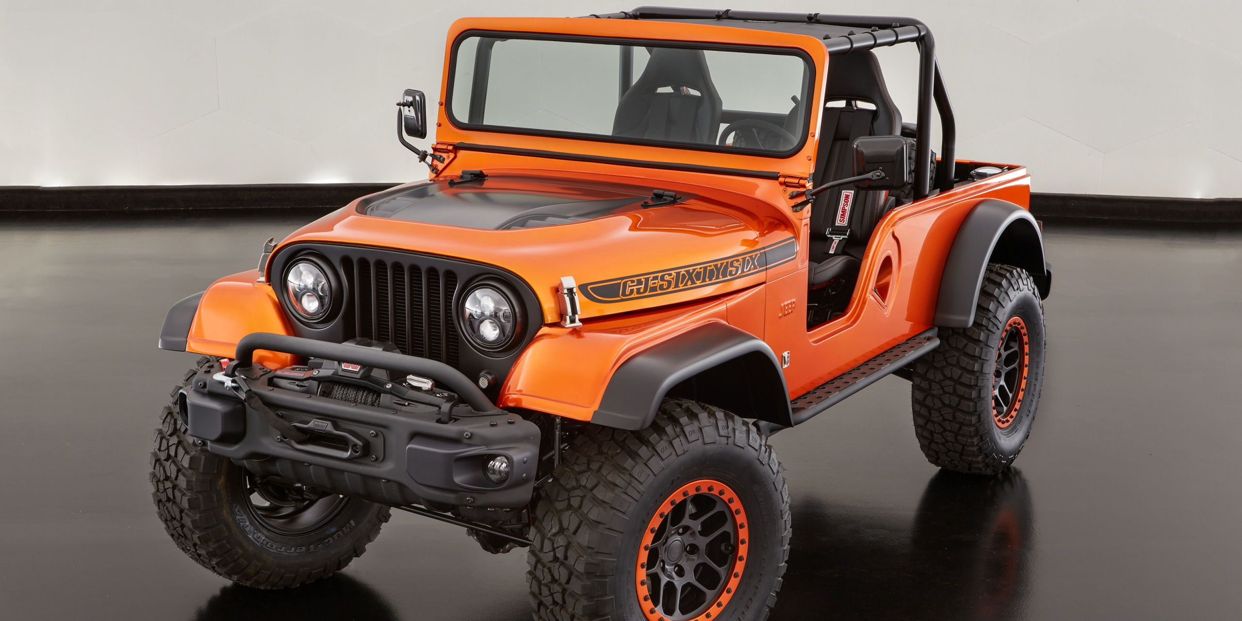 Jeep Went Full Retro With This SEMA Wrangler Concept