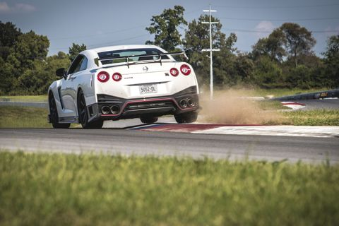 The 2017 Nissan GT-R Nismo Is Suddenly an Analog Sports Car