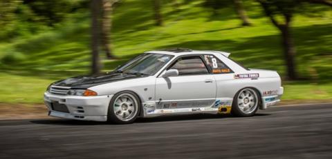 NIssan Skyline GTS-T hillclimb car