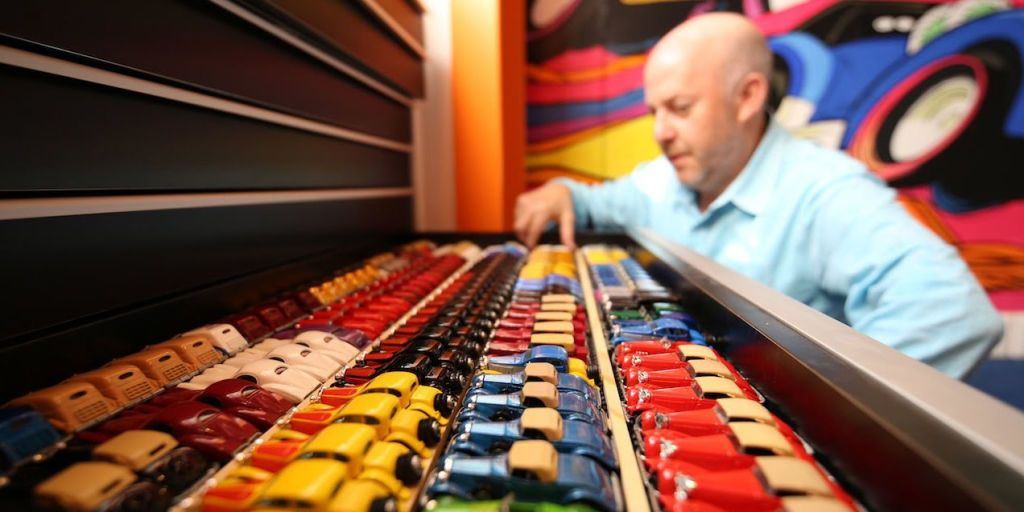 This Is What $1 Million Worth of Hot Wheels Looks Like