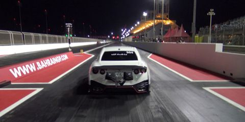 Watch This Modified Nissan GT-R Run a 7.168-Second Quarter Mile