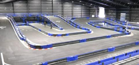 Indoor Karting track