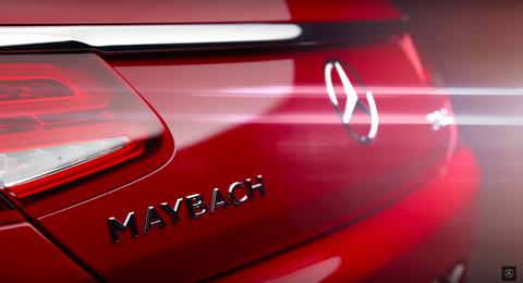 Mercedes Maybach S650 rear badge