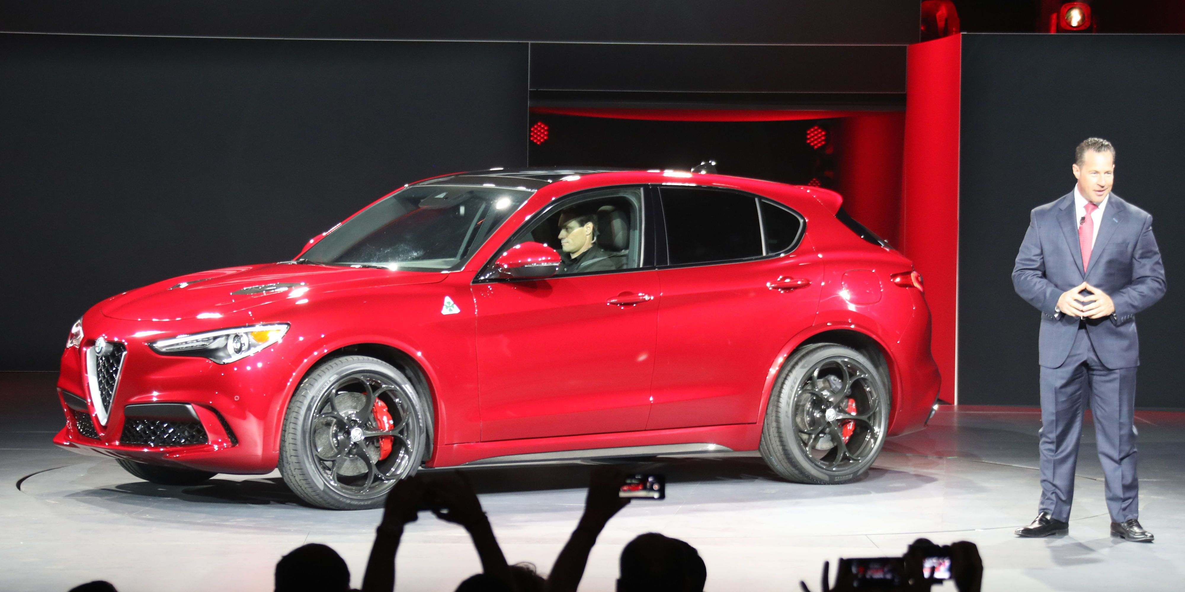 Alfa Says the Stelvio Will Be the Fastest SUV at the Nurburgring