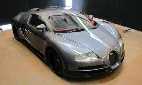 This Surprisingly Good Bugatti Veyron Replica Is Actually a Mercury Cougar