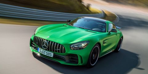 The Mercedes Amg Gt Black Series Might Not Arrive Until 2018