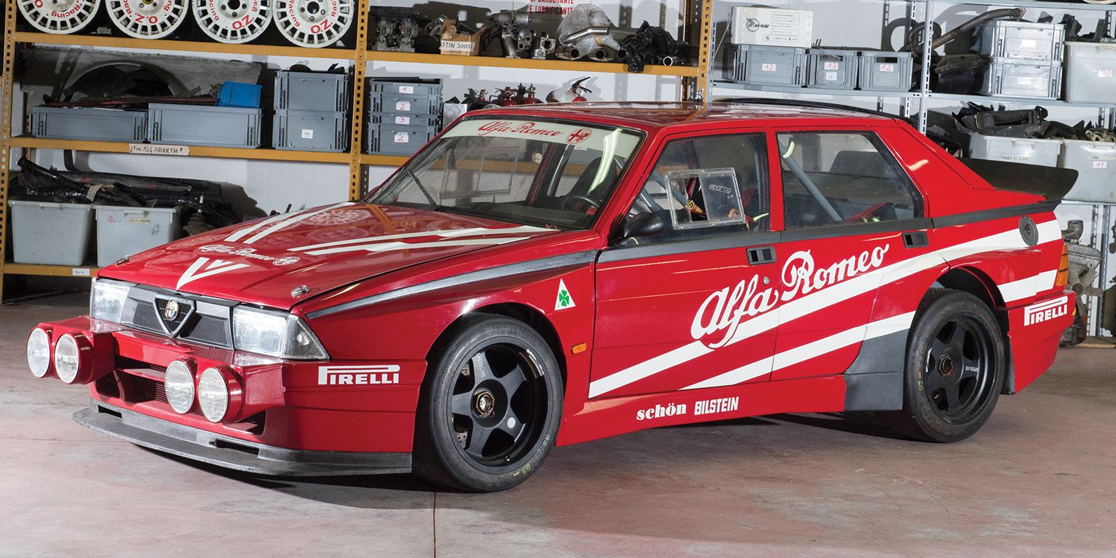 This Ultra Cool Alfa Romeo 75 Race Car Is Yours For 130000 Spider Engine Diagram