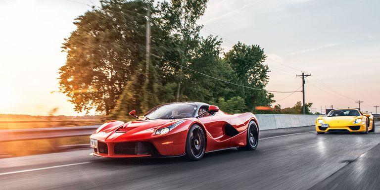 Ferrari LaFerrari & Porsche 918 Spyder: The Real World Test on mclaren p1 vs ferrari laferrari, ferrari 458 vs ferrari laferrari, pagani huayra vs ferrari laferrari, lamborghini aventador vs ferrari laferrari,