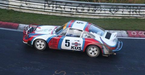 911 Sc Porsche Rally car nurburgring