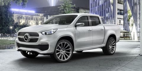 Mercedes Pickup Truck - New X-Class Not Coming to North America
