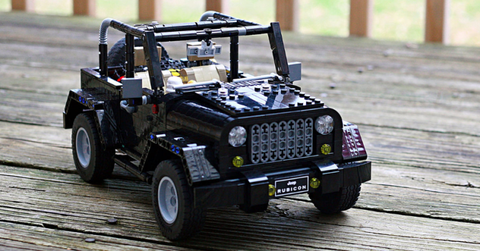 This Lego Jeep Wrangler Is Here To Conquer Your Backyard
