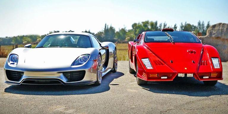 """Watch the Porsche 918 Spyder Battle the Legendary """"Ferrari Enzo"""""""