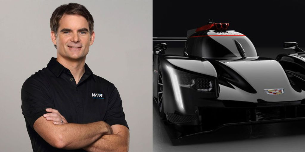 Car Auction Apps >> Relatively Unknown Racing Driver Jeff Gordon Will Unretire, Race Cadillac at Daytona 24