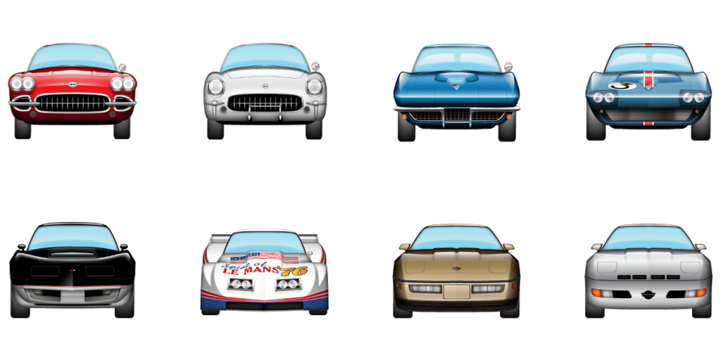 New Corvette Emoji Let You Pester Porsche-Lovers With America's Sports Car