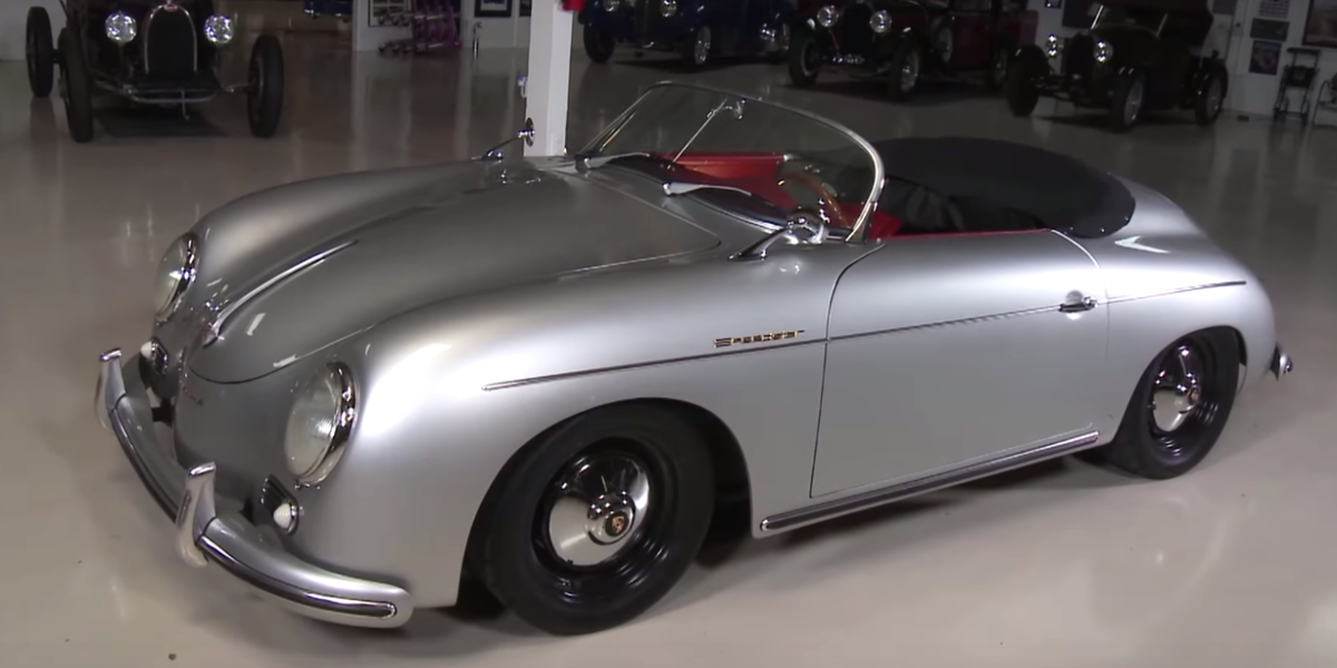 this subaru powered porsche 356 speedster replica may be better than the real thing. Black Bedroom Furniture Sets. Home Design Ideas