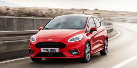 """<p>Currently, the 197-horsepower Fiesta ST is one of the best hot hatches you can buy. With the next-generation Fiesta (shown above) already revealed, expect&nbsp;<a href=""""http://www.roadandtrack.com/new-cars/future-cars/news/a31764/2018-ford-fiesta-st-arrival/"""" target=""""_blank"""" data-tracking-id=""""recirc-text-link"""">a new Fiesta&nbsp;ST&nbsp;late next year</a>. Expect a bit more power and possibly even selectable drive modes. &nbsp;While we might not get to drive the next ST in 2017, the new Fiesta should give a good idea of how one of our favorite hot hatches will be to drive.</p>"""