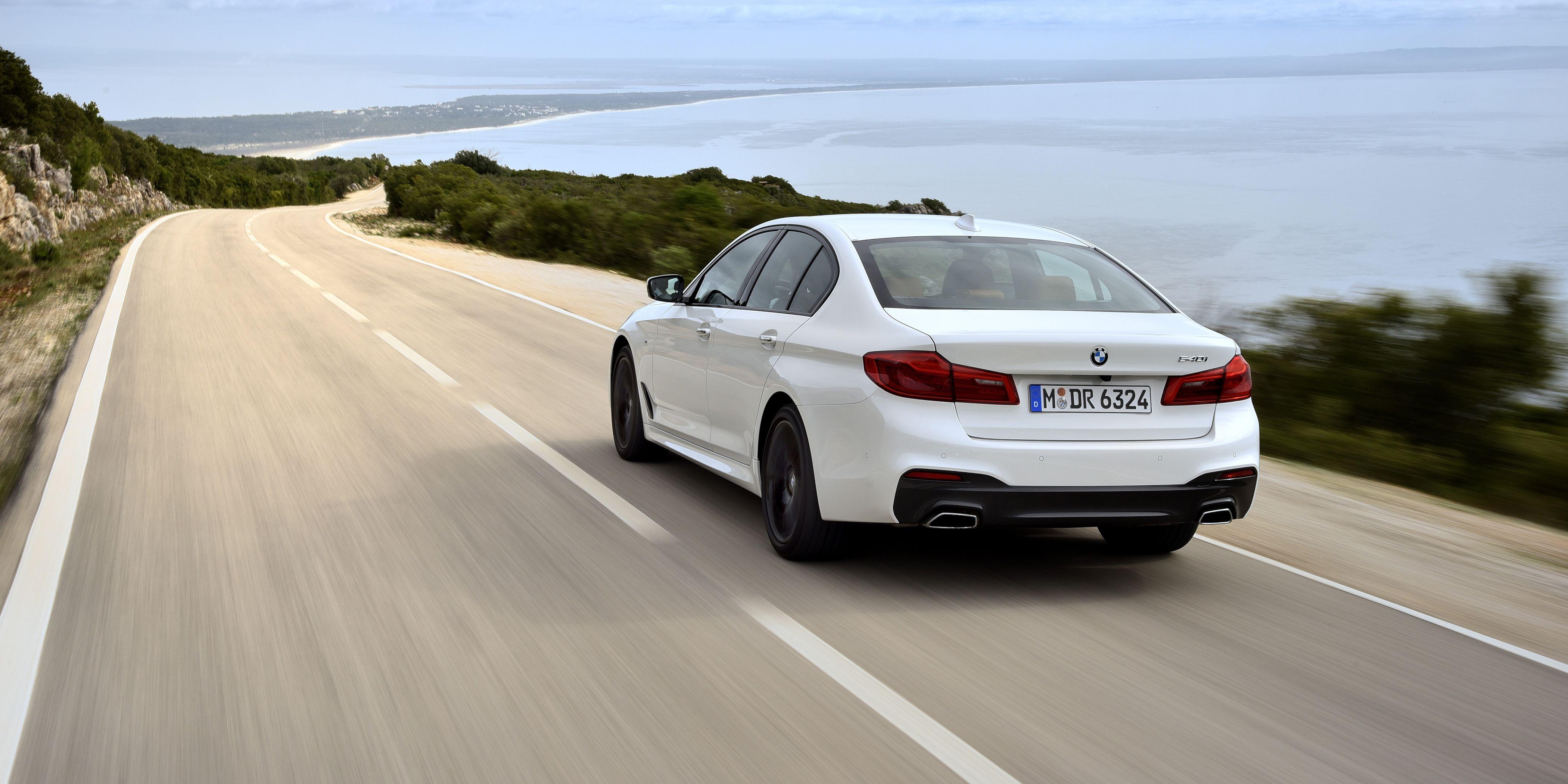 2017 BMW 540i First Drive