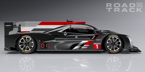 Let Jordan Taylor Show You Around The New Cadillac Dpi Race Car