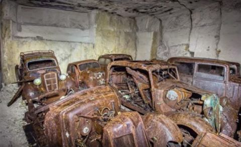 These Abandoned French Cars Might Have Been Hiding From World War II