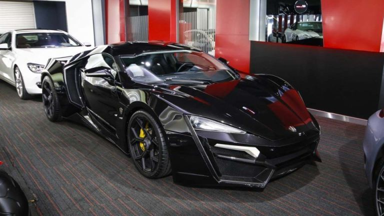Alain Class Motors Dubai. The Lykan Hypersport ...