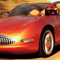 """<p>After the disaster of the previous year's Signia, Buick returned to sedans for 1999, but the unfortunate result was the melted-looking Cielo. The grille supposedly took its inspiration from <a href=""""http://www.caranddriver.com/flipbook/exceptional-conceptual-the-greatest-concept-cars-of-all-time-volume-i#2"""" target=""""_blank"""">the famed Y-Job</a>, and the roller-coaster body sides also referenced classic Buicks, all of which suggests that sometimes it's best to leave the past in the past.</p>"""