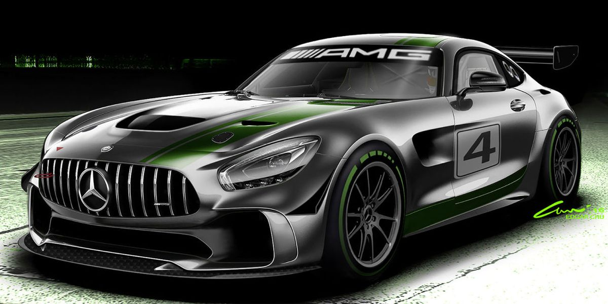 Cop Cars For Sale >> Mercedes-AMG Is Building a GT4 Race Car