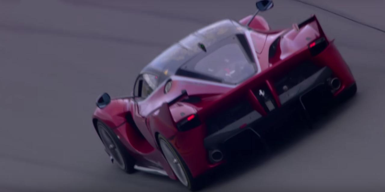 The Ferrari FXX K Sounds Like a Screaming Demon