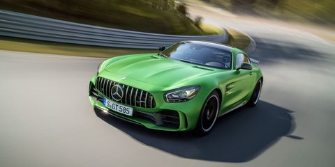 The Mercedes-AMG GT R Is Obscenely Fast at the Nurburgring