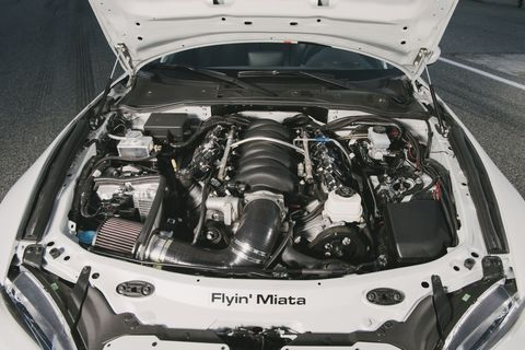 This 525-Horsepower V8 Miata Will Fix Every Problem You've