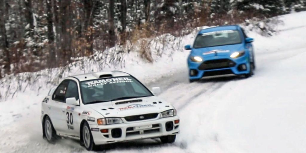 How Does a Ford Focus RS Compare to a Prodrive-Built Rally Racer?