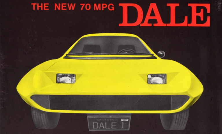 The Outrageous Story Of The Dale A 1970s Three Wheeled Scam