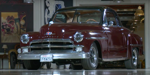 1950 Plymouth Business Coupe Jay Leno's Garage