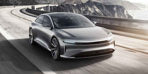 Lucid Air Electric Car Starts At Gets Hp And