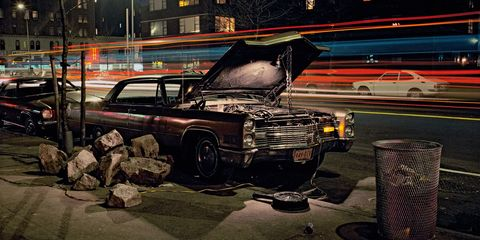 Why I Spent Two Years Photographing The Forlorn Cars Of New York City