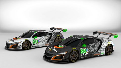 The Livery for the Acura NSX GT3 Has Three Nods to the Past