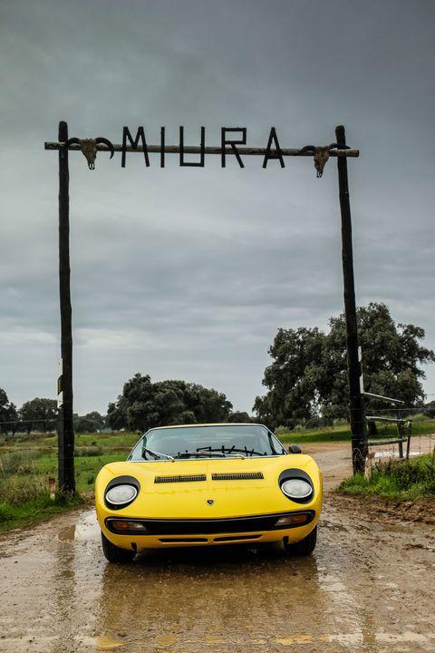 Lamborghini Went Back To The Miura Family Farm