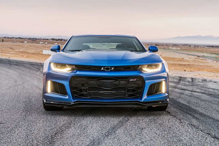 The 10 Speed Chevy Camaro Zl1 Shifts Into Eighth Gear At