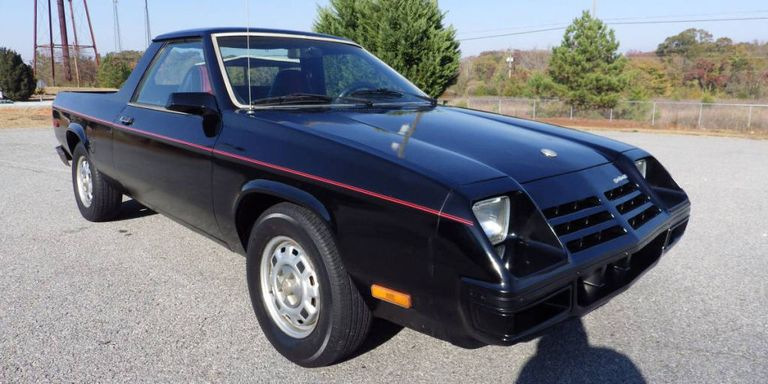 There's An Ultra-Clean 1982 Dodge Rampage For Sale in Georgia