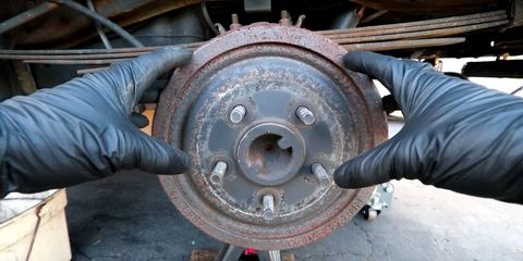 How to Change Brake Shoes - How to Fix Drum Brakes