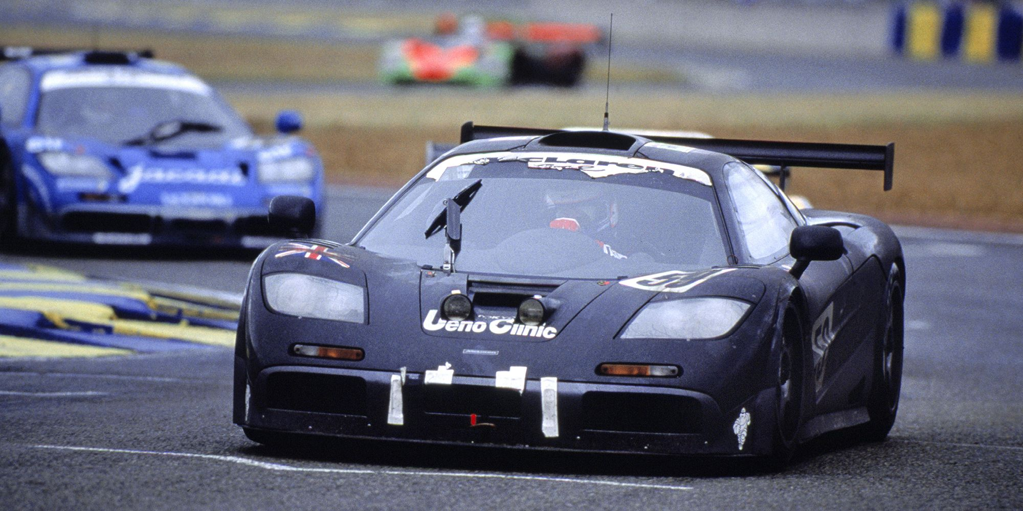 the story behind the mclaren f1's stunning 1995 le mans victory