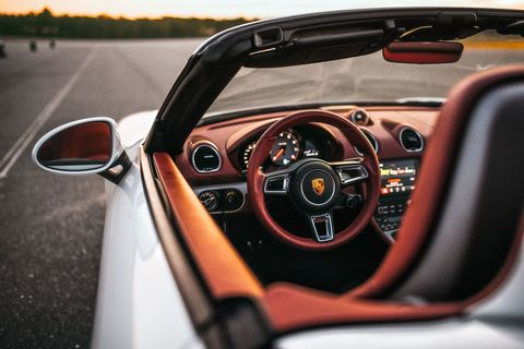 2017 Porsche 718 Boxster S Road Test - New Boxster Review