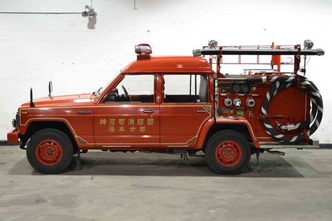Nissan Safari Fire Truck
