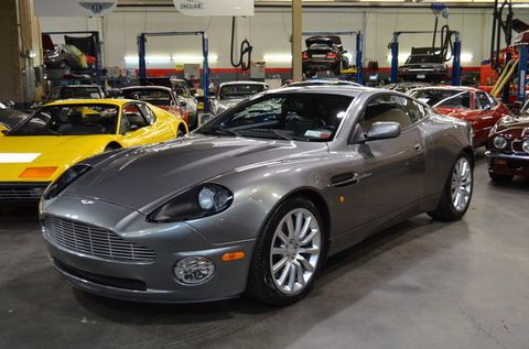 Theres An Aston Martin Vanquish With A Factory Speed Conversion - Aston martin long island