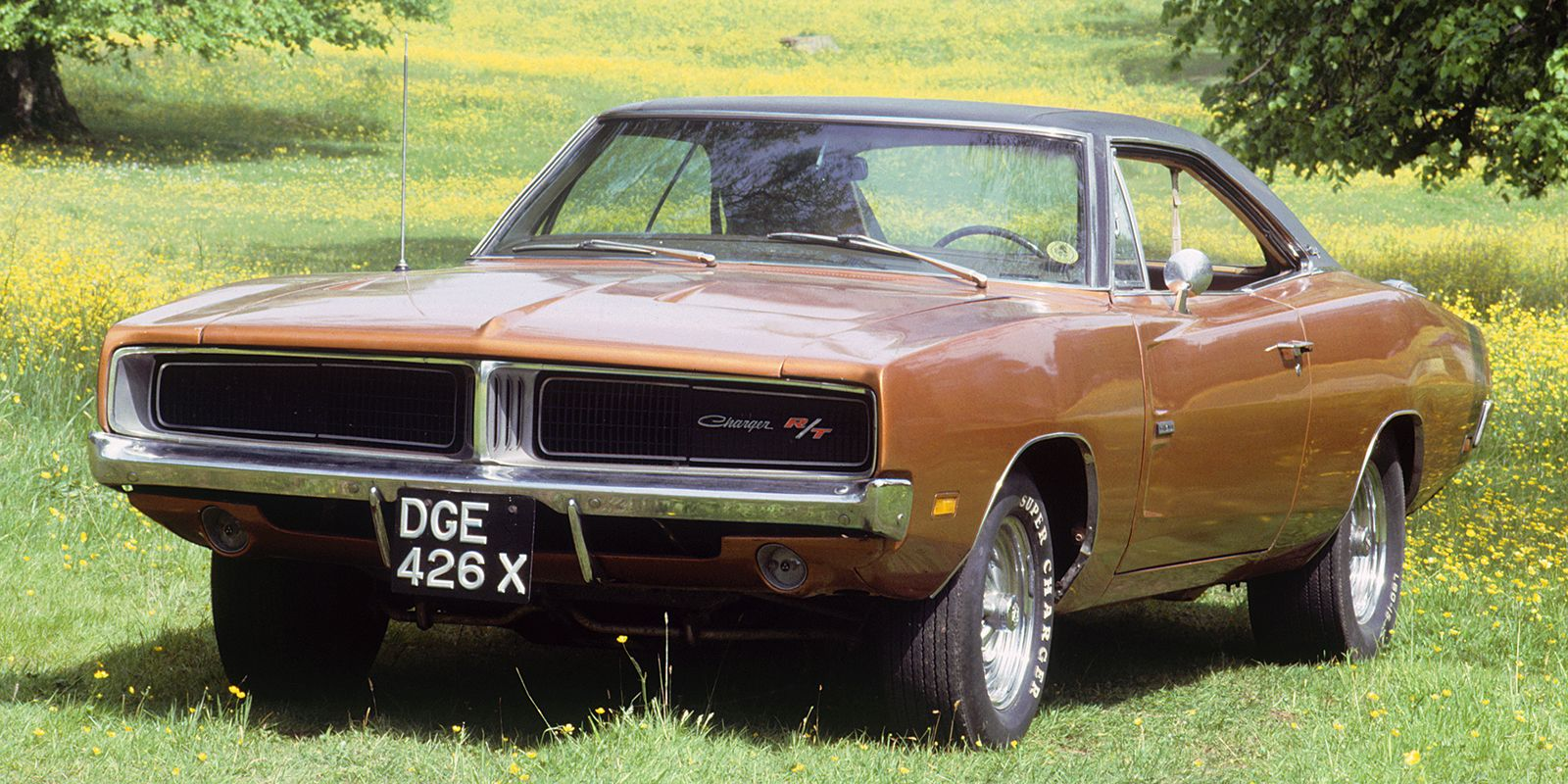 1969 Dodge Charger. Artist Unknown. (Photo by National Motor Museum/Heritage Images/Getty Images)