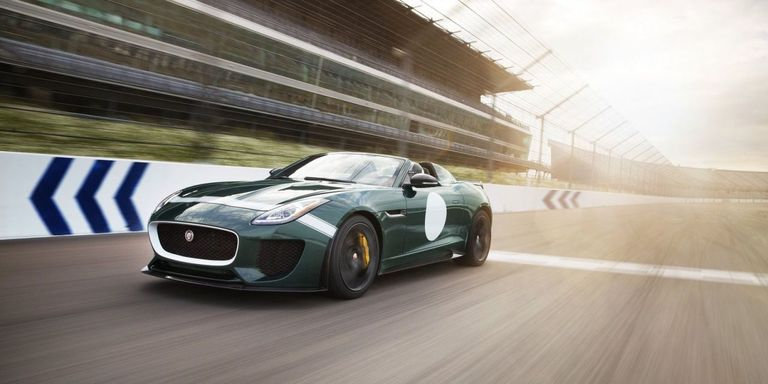 Jaguar s Nutty F Type Project 7 is Shockingly Usable