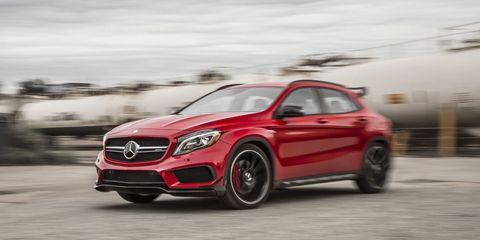 The Next Mercedes-AMG CLA45 and GLA45 Will Make More Than 400 Horsepower
