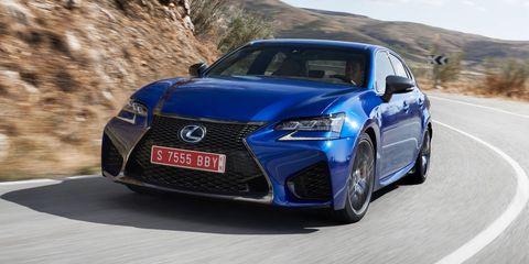 Land vehicle, Vehicle, Car, Lexus, Automotive design, Lexus is, Lexus gs, Mid-size car, Sedan, Sports sedan,