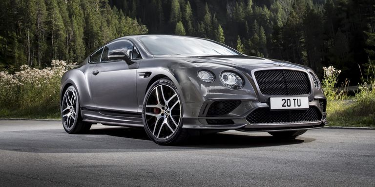 The 209MPH Continental Supersports Is the Fastest Bentley Ever
