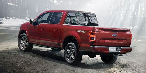 The New   Liter Powerstroke Lets Ford Compete With The Ram  Eco Sel A Light Duty Oil Burner Making  Lb Ft Of Torque