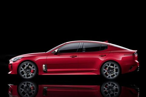 "<p>The best thing we've seen so far is, surprisingly, from Kia. The&nbsp;<a href=""http://www.roadandtrack.com/car-shows/detroit-auto-show/news/a32182/this-is-the-gorgeous-rear-wheel-drive-kia-stinger-gt/"" data-tracking-id=""recirc-text-link"">Kia Stinger GT</a> is a 365 horsepower, rear-wheel drive sedan that looks like a mix of many of our favorite cars. We can't wait to drive it.</p>"